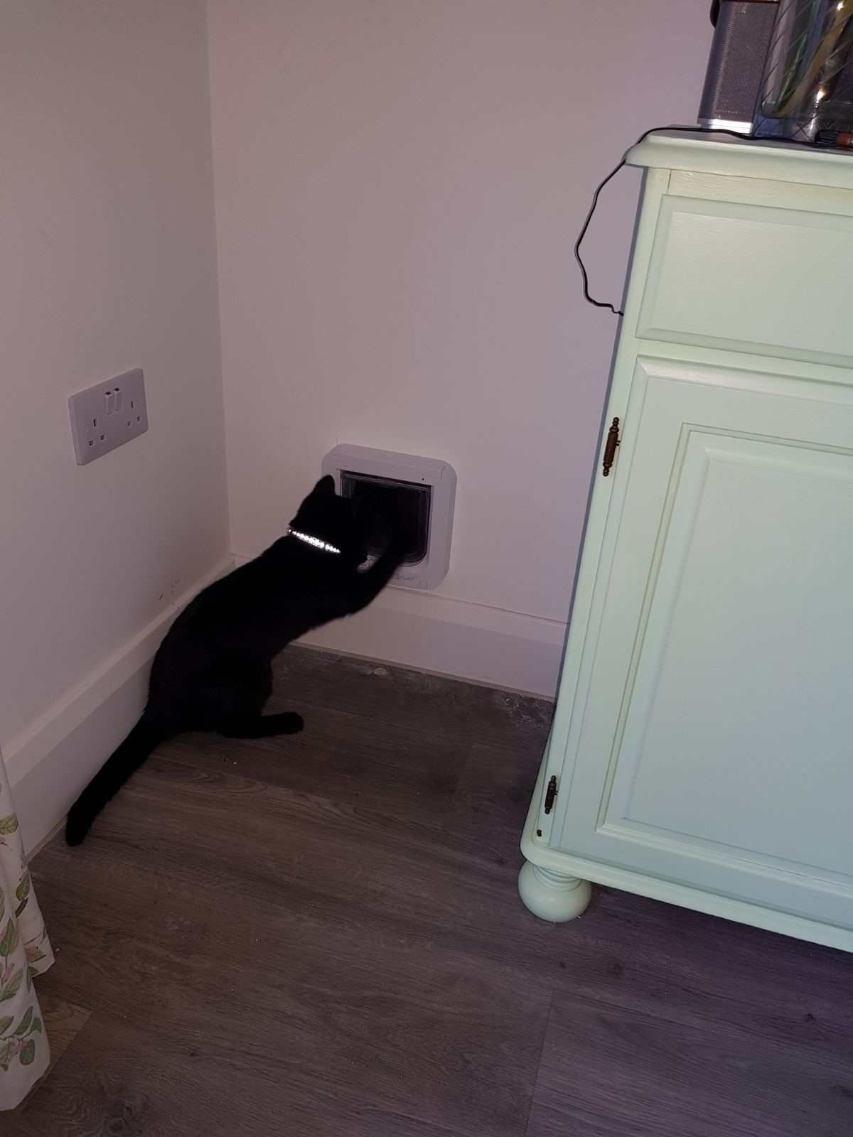 Cat Flap Fitting Through Walls Doors Upvc Panels And